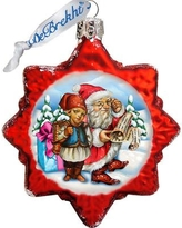 The Holiday Aisle Christmas Tale Glass Ornament THLY6700