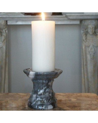 Find The Best Deals On Marble Products International Small Stone Candlestick Cc0105 Color Cashmere Grey