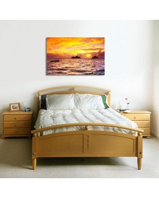 GREAT BIG PHOTOS LLC Lanikai by Colossal Images Canvas Wall Art 27 in. x 36 in., Multi-Color