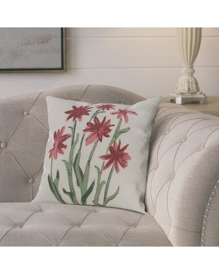 Amazing Deal On Ophelia Co Kaylor Daffodils Outdoor Square Pillow Cover Insert Pqdp7987 Color Rust Size 20 X 20