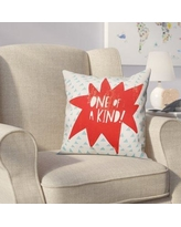 Viv + Rae Kory One of A Kind Throw Pillow VVRE4291 Color: Red