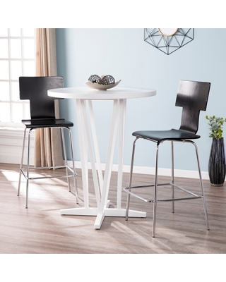 Check Out Deals On Delrosa White Bar Height Table White