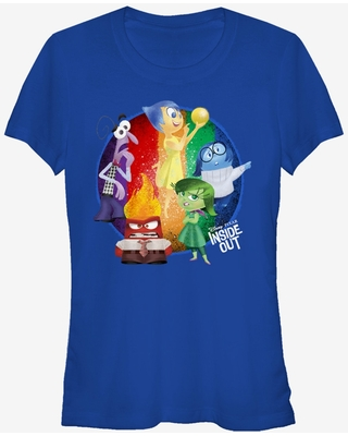 Inside Out Riley's Emotions Circle Girls T-Shirt