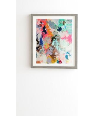 """East Urban Home Really Framed Painting Print USSC3110 Size: 22.4"""" H x 19"""" W x 1"""" D Frame Color: Black"""