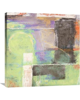"""Global Gallery 'The Island I' by Alessio Aprile Painting Print on Wrapped Canvas GCS-453746 Size: 30"""" H x 30"""" W x 1.5"""" D"""