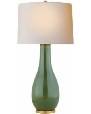Visual Comfort and Co. E. F. Chapman Orson 32 Inch Table Lamp - CHA 8655SHK-NP