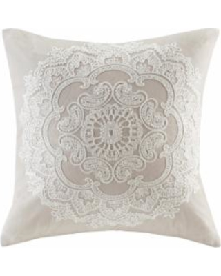 Harbor House Suzanna Square Throw Pillow, Brown, Fits All