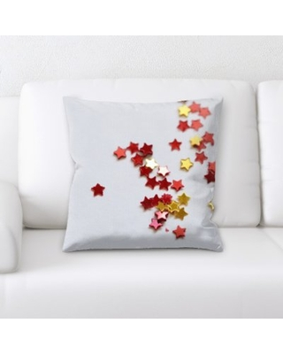 Lach Little Stars Throw Pillow Latitude Run