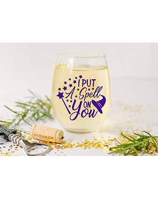 Hocus Pocus, Halloween, Halloween Party, Fall time, Funny Wine, Birthday, Resting Witch Face, Host Gift, Halloween, Halloween Wine Glass