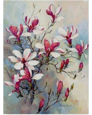 """Winston Porter 'Awakening of Spring' Acrylic Painting Print on Wrapped Canvas WNST6905 Size: 32"""" H x 24"""" W x 2"""" D"""