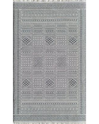 Check Out Deals On Foundry Select Bousquet Geometric Gray Area Rug Polypropylene Polyester In Gray Silver Size Rectangle 5 3 X 7 Wayfair