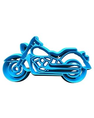 Sweet Prints Inc Motorcycle Cookie Cutter - Dishwasher Safe