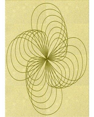 Find Deals On East Urban Home Geometric Yellow Area Rug Wool Polyester In Yellow Gold Size Rectangle 3 X 5 Wayfair 2e93048afefc4f38b173d2813ebed301