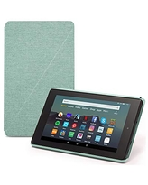 Fire 7 Essentials Bundle including Fire 7 Tablet, Amazon Standing Case, and Nupro Anti-Glare Screen Protector