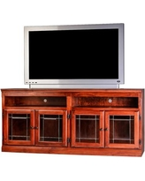 "Loon Peak Nesbitt Traditional 66"" TV Stand LNPE7589 Color: Spice Alder"
