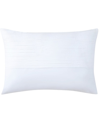 """Charisma Fairfield Pleated 14"""" x 20"""" Decorative Pillow (Feather - Single - Accent)"""
