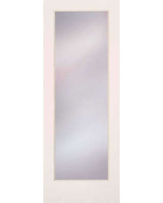 Feather River Doors 32 In X 80 Privacy Smooth 1 Lite Primed Mdf