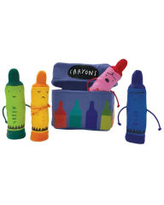 Day the Crayons Quit Finger Puppet Playset DAYWALT/JEFFERS Author