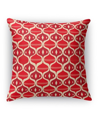 HOLIDAY OGEE Throw Pillow By Kava Designs (18 X 18)