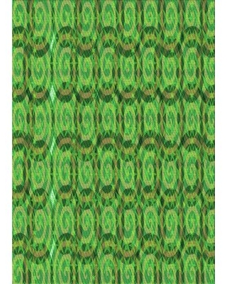 New Deals On Wool Green Light Green Area Rug East Urban Home Rug Size Rectangle 4 X 6