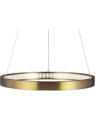 Bodiam Chandelier by Tech Lighting - Color: Silver - Finish: Satin Nickel - (700BOD30S-LED930)