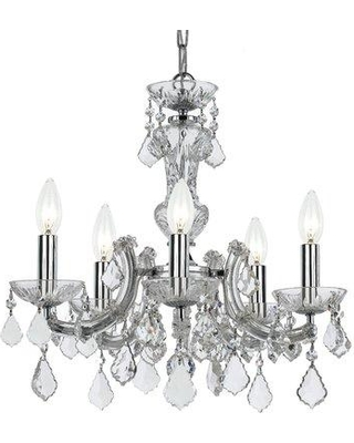 House of Hampton Catchings 5-Light Candle Style Chandelier HMPT4797