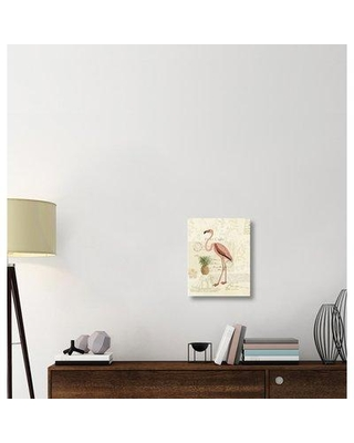 """East Urban Home 'Floridian IV' Graphic Art Print on Canvas ERBR1826 Size: 20"""" H x 16"""" W x 1.5"""" D"""