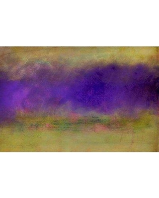 """Marmont Hill 'His Fighting Heart' by Jennifer Jorgensen Painting Print on Wrapped Canvas ET-MWW-JEJ-9914-C- Size: 30"""" H x 45"""" W"""