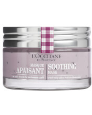 L'Occitane Soothing Mask (Net Wt. 2.6 oz.)