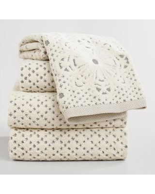 Lattice Sculpted Bath Towel Collection by World Market