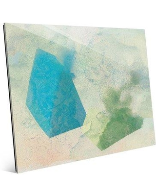 "Click Wall Art 'Hazy Prisms Color and Light' Graphic Art Print on Acrylic WAT0000102ACR11X14XXX Size: 11"" H x 14"" W x 1"" D"