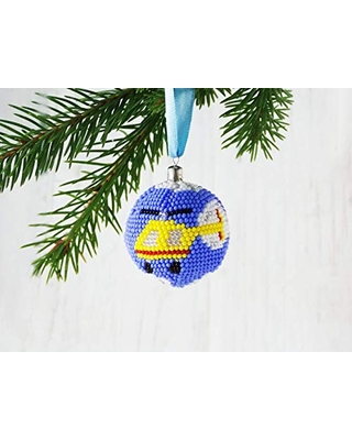 Find Savings On Handmade Yellow Helicopter Christmas Ornaments Aviation Holiday Decorations Spase Aviation Themed Decor