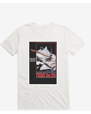 Friday The 13th Nightmare Poster T-Shirt