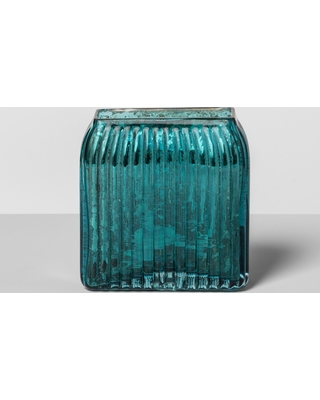 Amazing Deal On Glass Toothbrush Holder Teal Blue Opalhouse