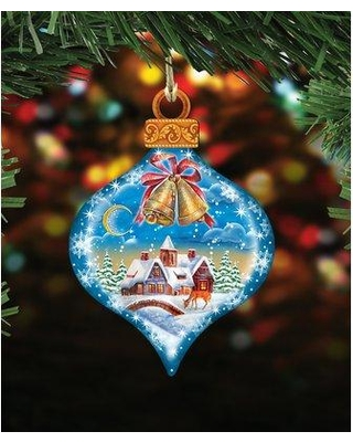 The Holiday Aisle Winter Drop Shaped Ornament BI080768