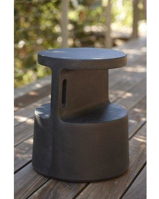 Offi Tote End Table TOTE Color: Black
