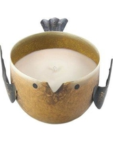 Gracie Oaks Birdie Key Lime Novelty Candle GRKS7647 Color: Yellow