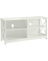 Oxford TV Stand for TVs up to 46' White - Breighton Home