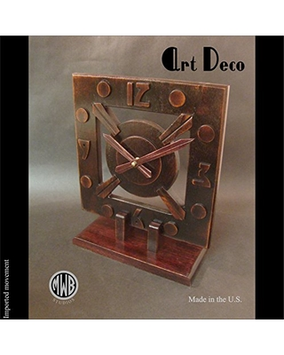 Art Deco styled mantle clock.