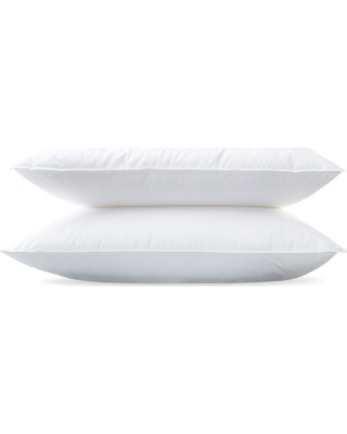 Matouk Montreux Firm 600 Fill Power Down 280 Thread Count Pillow, Size Standard - White