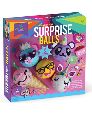 Make Your Own Surprise Balls - Arts & Crafts for Ages 6 to 11 - Fat Brain Toys