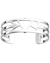Les Georgettes by Altesse Triangular Openwork Thin Adjustable Cuff Ibiza Bracelet, 14mm, 0.5in