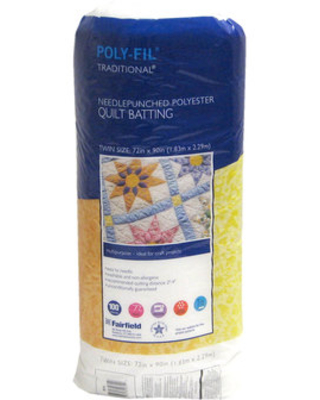 Polyester Quilt Batting - Twin