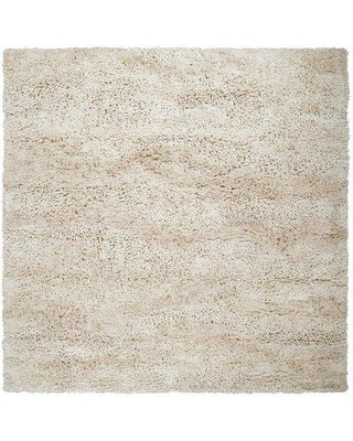 Orren Ellis Messerly Handwoven Flatweave Wool Cream Area Rug OREL1912 Rug Size: Square 8'