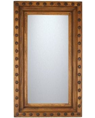 "Loon Peak Lafontaine Accent Mirror LOPK2878 Size: 60"" H x 27' W x 2"" D"