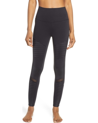 4bf402d585910 Check Out These Major Bargains: Women's Alo High Waist Moto 7/8 Leggings