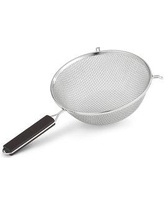"""Artisan Polar Ware Stainless Steel Round Double Mesh 8"""" Food Strainer T143 Size: 6"""" H x 8"""" W x 14"""" D"""