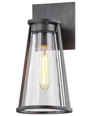 Troy Lighting Prospect 6-in W 1-Light Graphite Industrial Wall Sconce | B7611