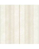 """Charlton Home® Correen Scattered Stripe 33' L x 20.5"""" W Wallpaper Roll X113301223 Color: Taupe Shimmer/Baby Pink"""
