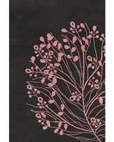 East Urban Home Brown/Pink Area Rug ESUM1006 Rug Size: Rectangle 5' x 7'6""